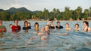 First Water and Land Contact Festival in Thailand