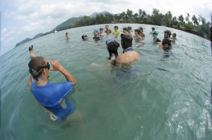 3th Water and Land Contact Festival in Thailand by Mikhail Dudarev
