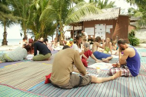 3th Water and Land Contact Festival in Thailand by Tatiana Grigorieva